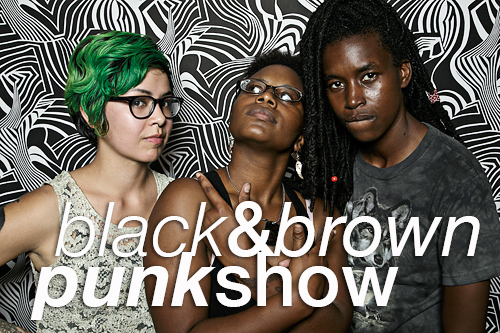 Black and Brown Punk Show 2013 at UE Hall
