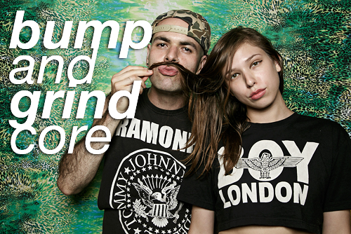 bump and grindcore at beauty bar