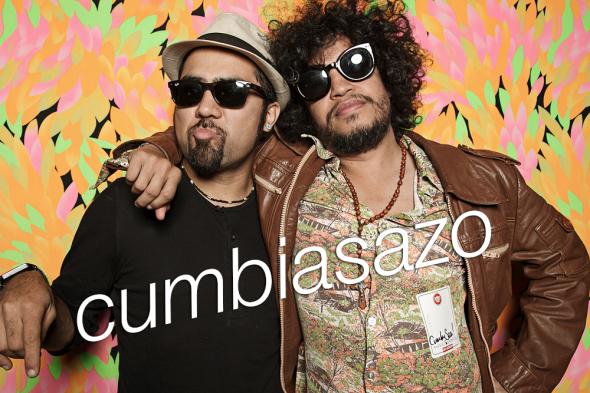 cumbiasazo with dos santos