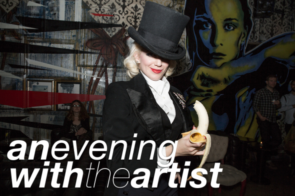 an evening with the artist
