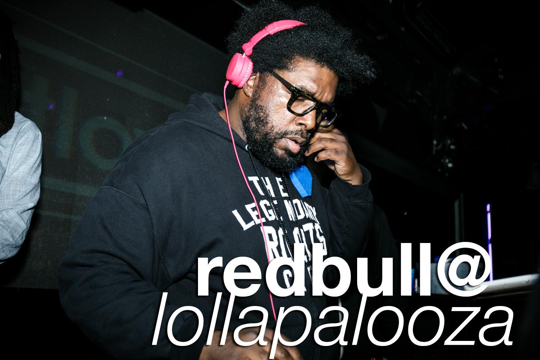 redbull event photos from lollapalooza