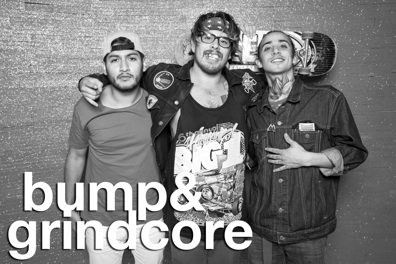 bump and grindcore portraits by glitterguts
