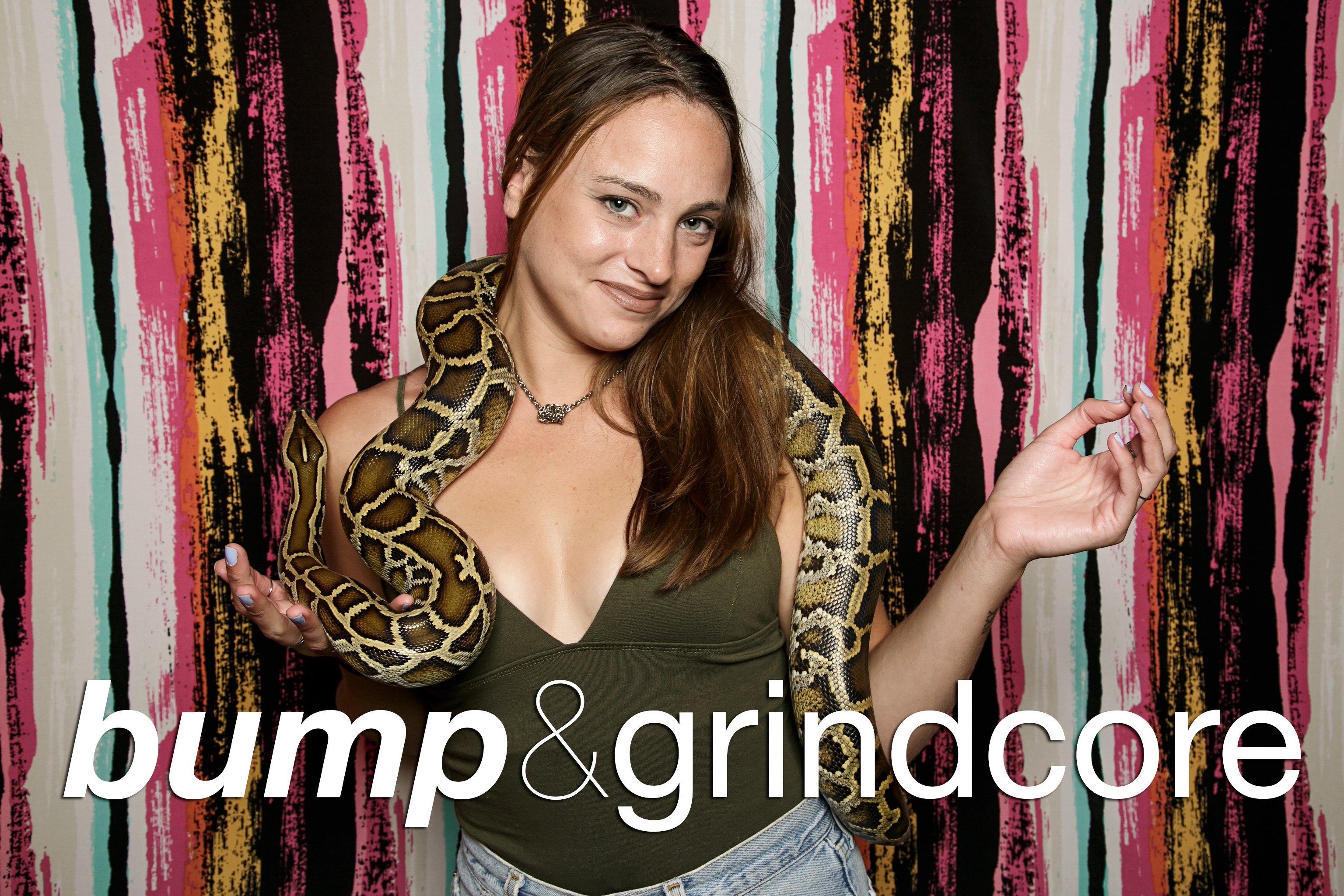 photo booth portraits from bump and grindcore's britney tribute, june 2016