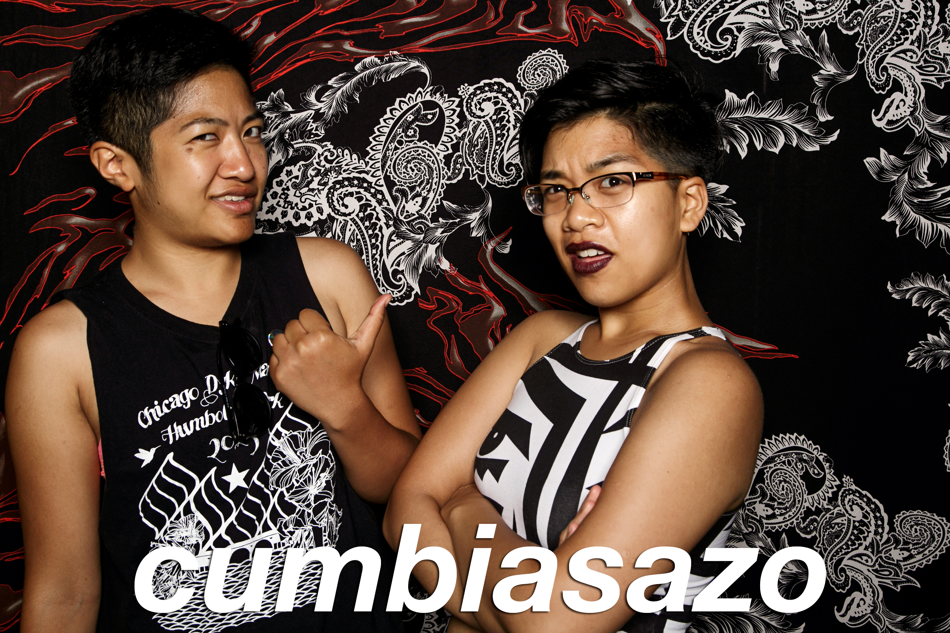 portrait booth photos from cumbiasazo, june 2016
