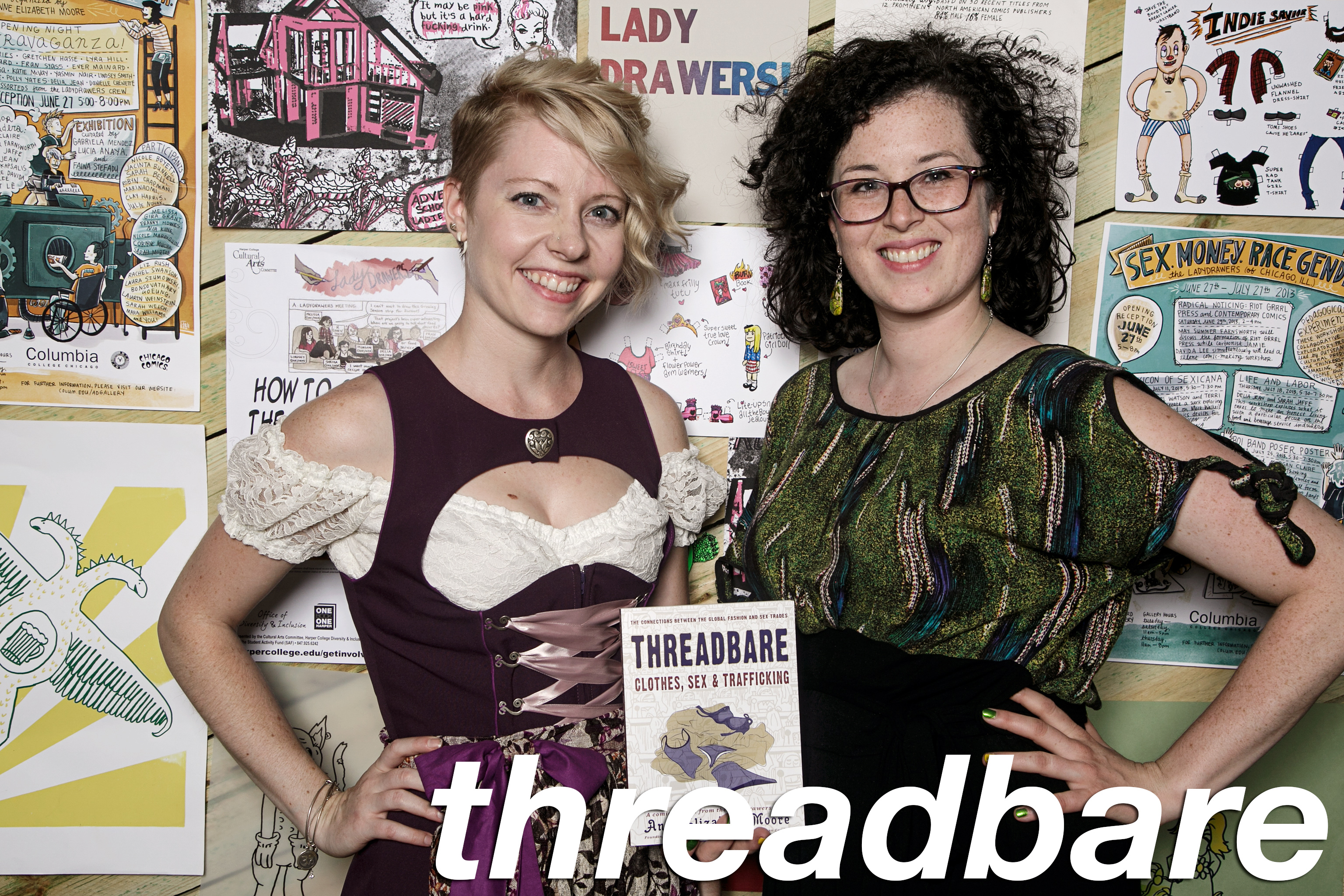 photo booth portraits from threadbare, june 2016