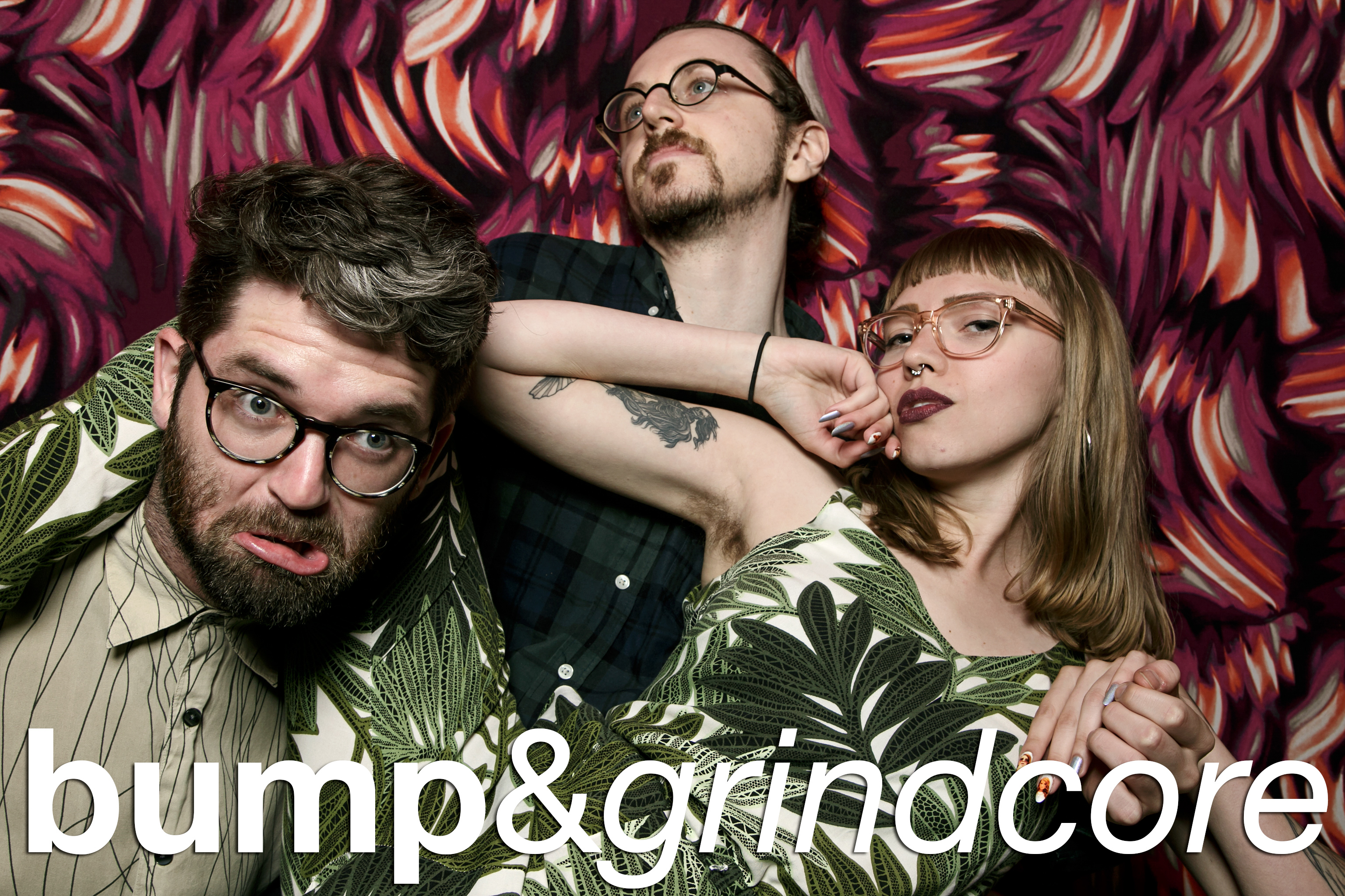 photobooth portraits from bump and grindcore pitchfork fest, july 2016