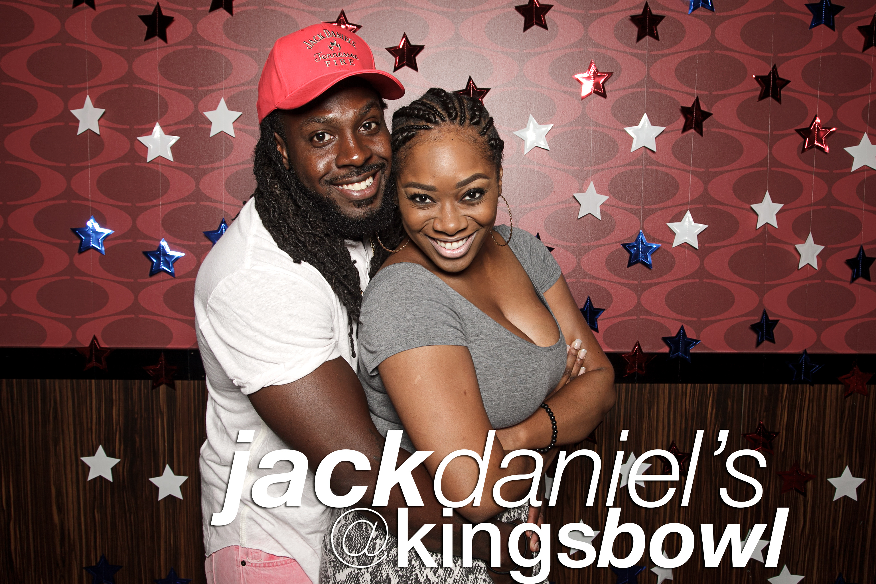 phoo booth portraits from jack daniels at kings bowl, july 2016