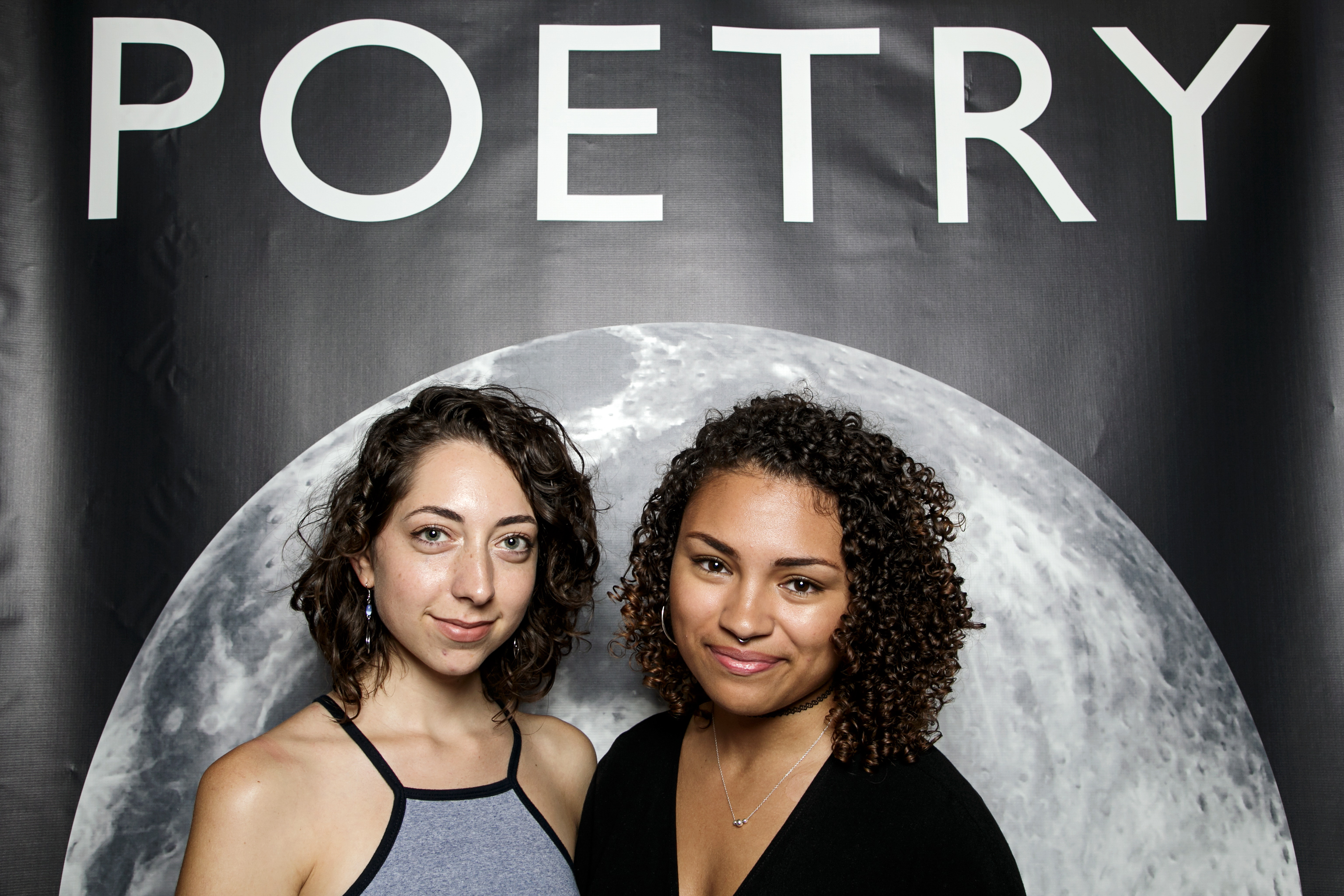 portrait booth photos from poetry foundation's summertime party, july 2016