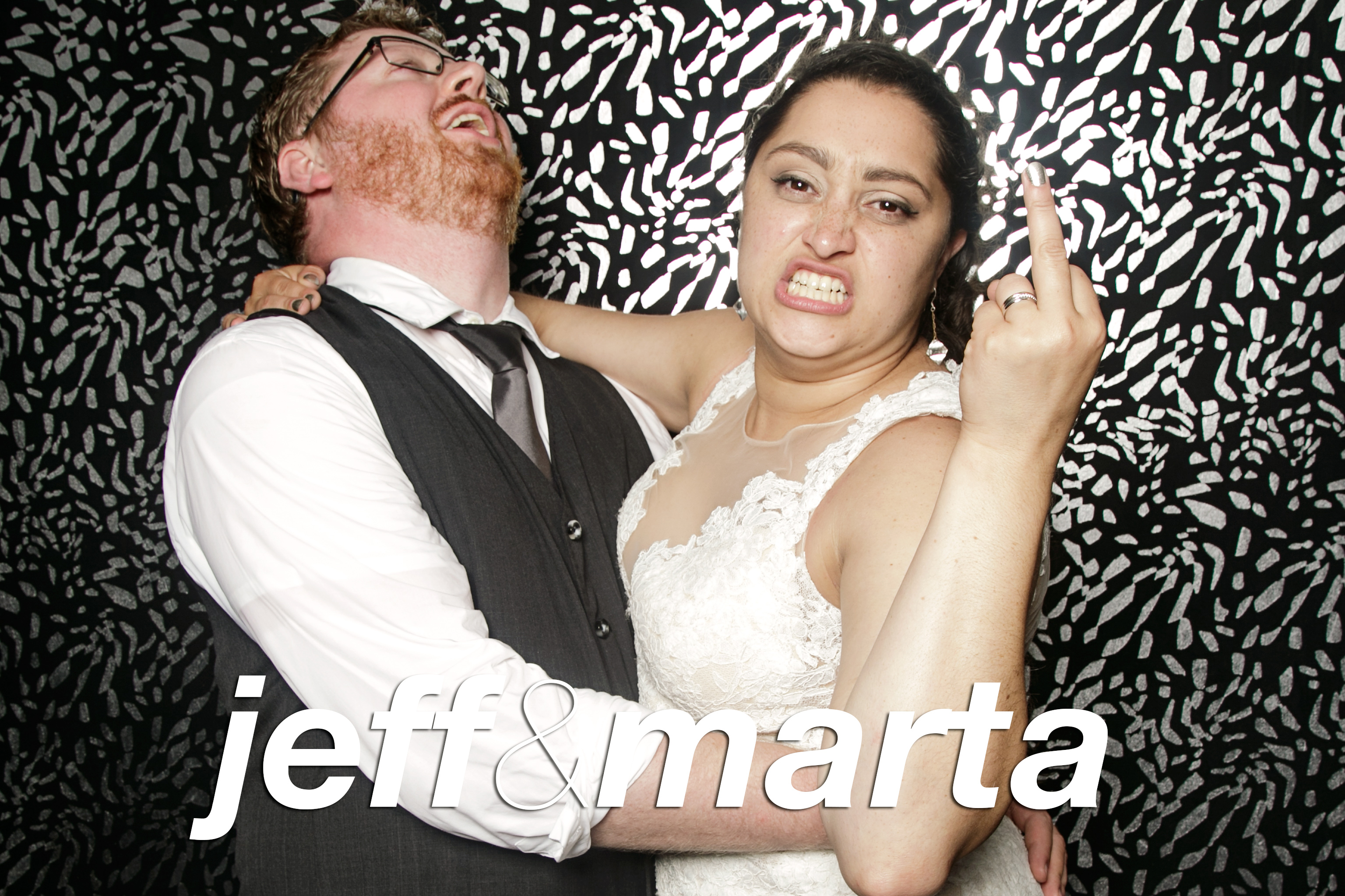 photo booth portraits from jeff and marta's wedding at camp wandawega, september 2016
