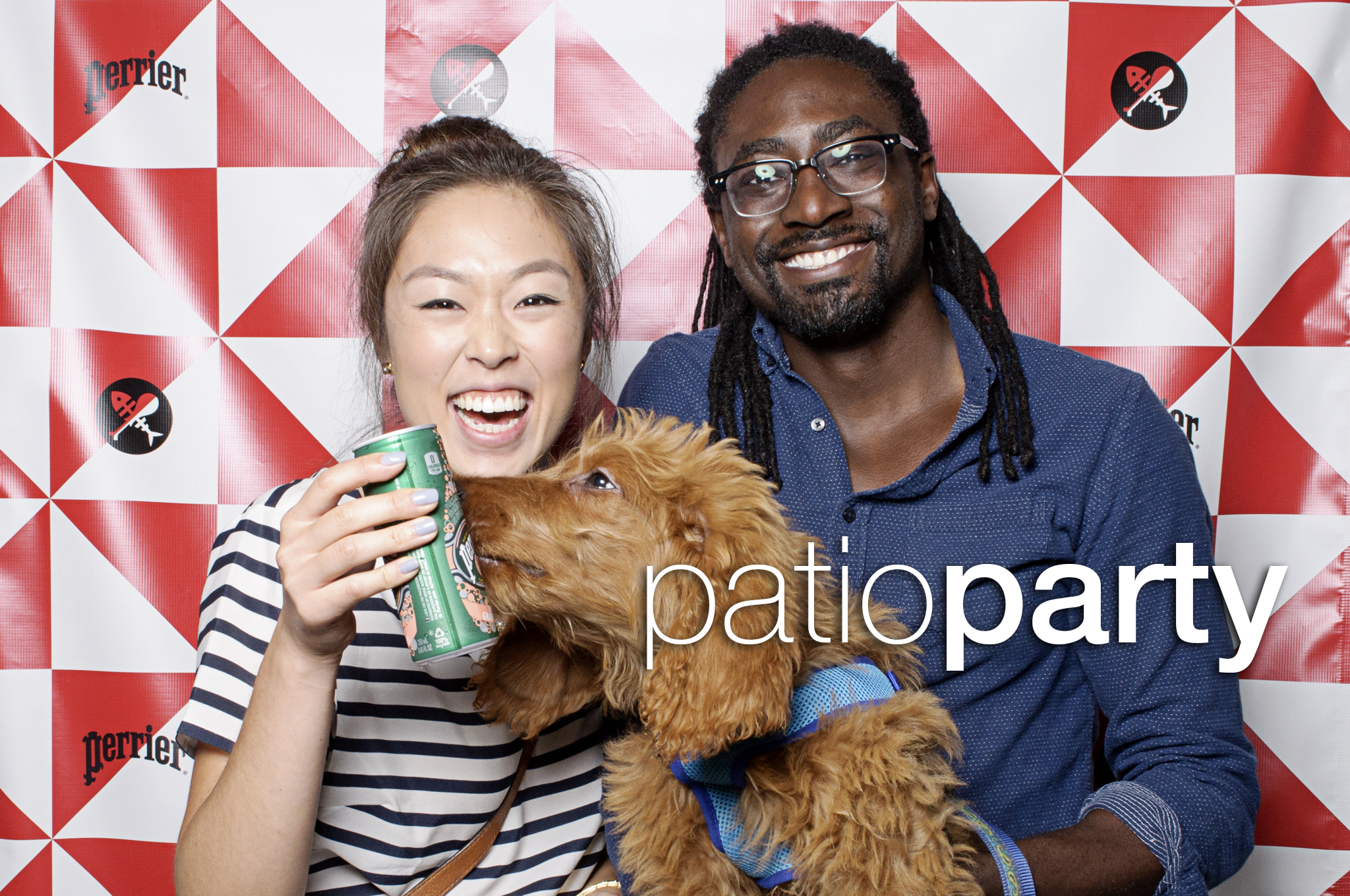 photo booth portraits from perrier and parsons final summer patio party, september 2016
