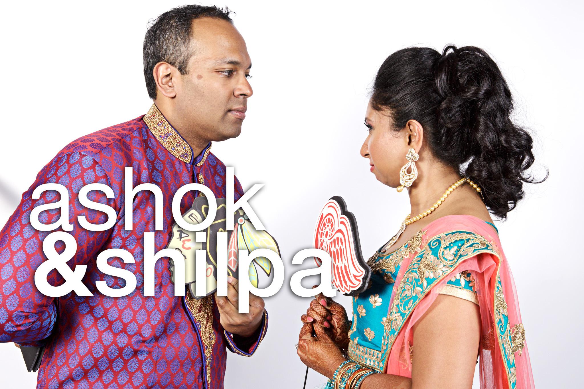 Ashok and Shilpa