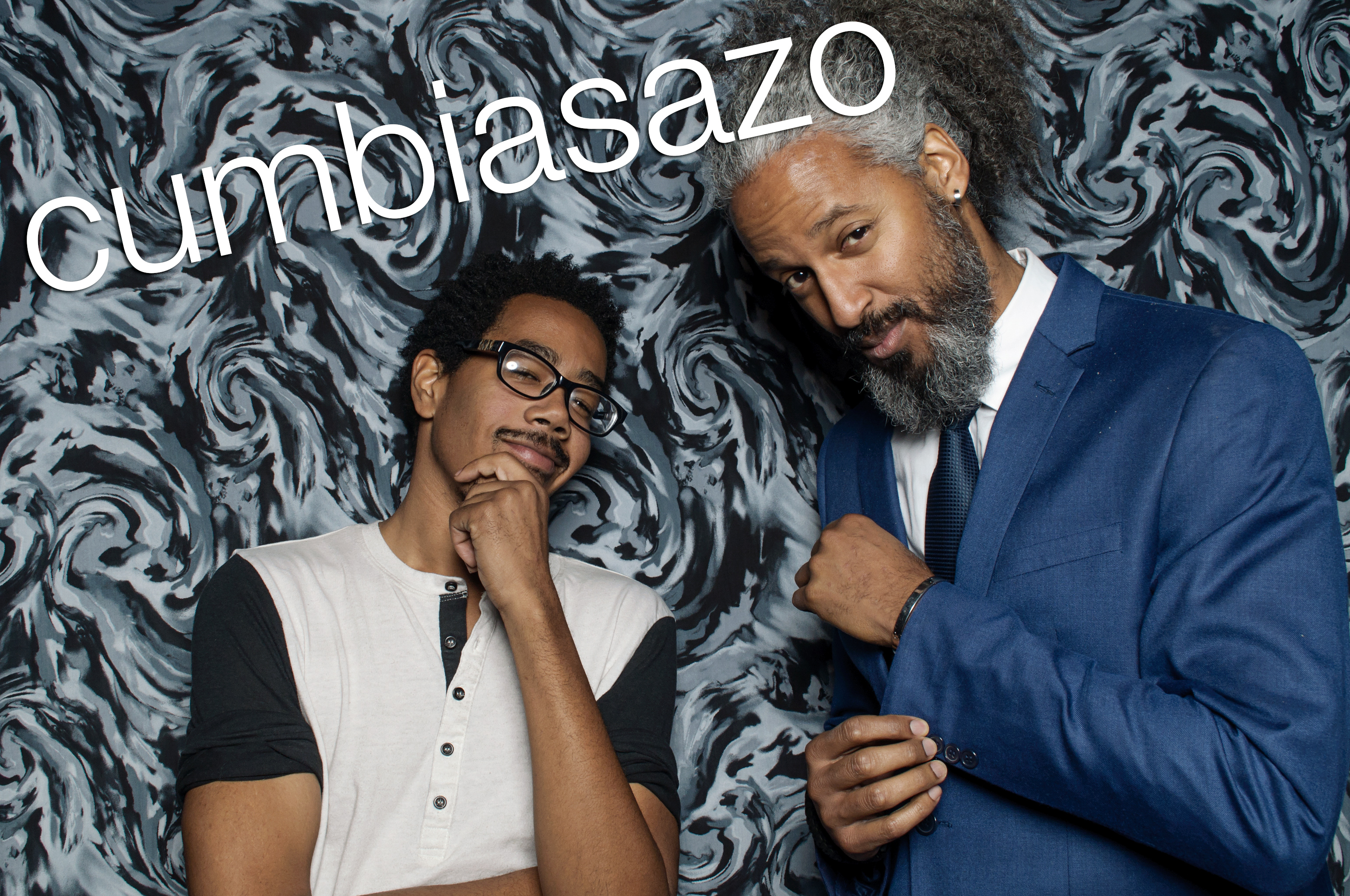 photobooth portraits from cumbiasazo in chicago, october 2016