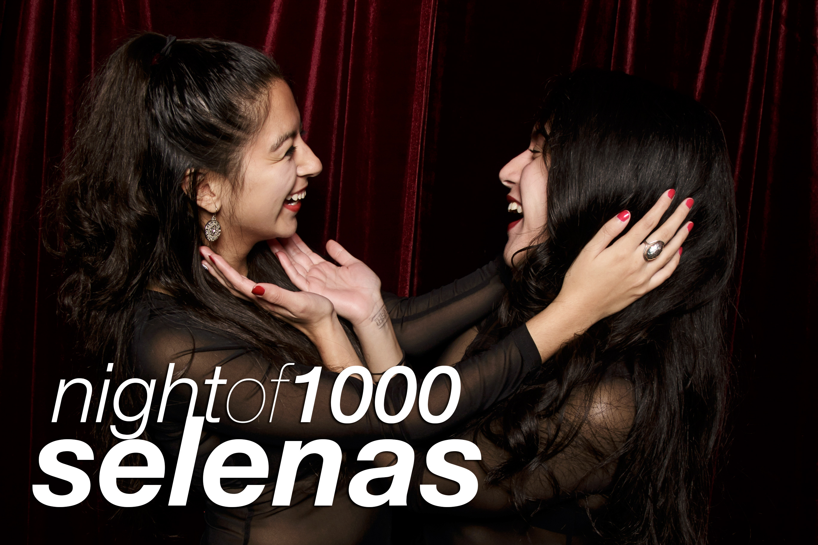 photo booth portraits from night of 1000 selenas, october 2016