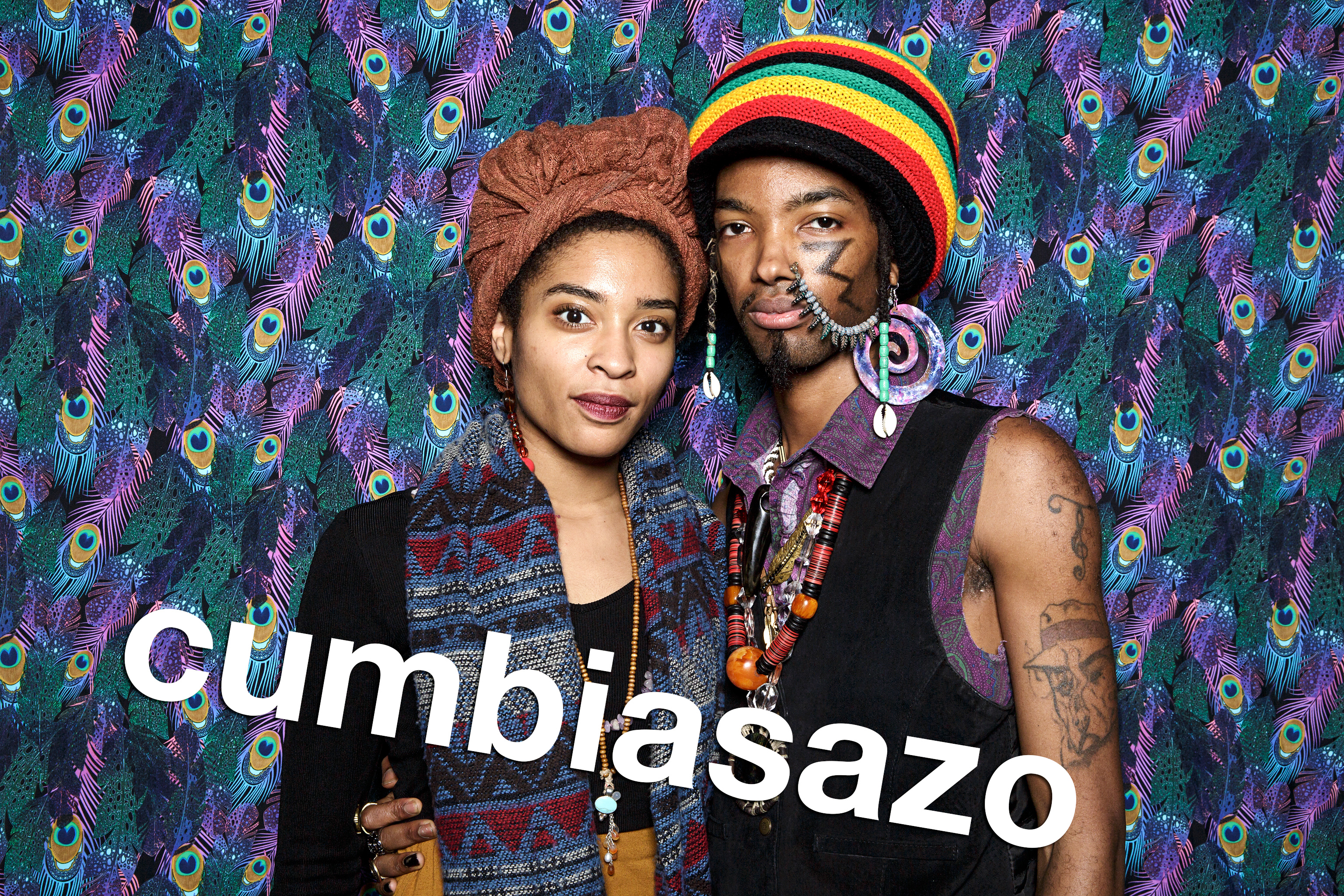 photo booth portraits from cumbiasazo at double door, november 2016
