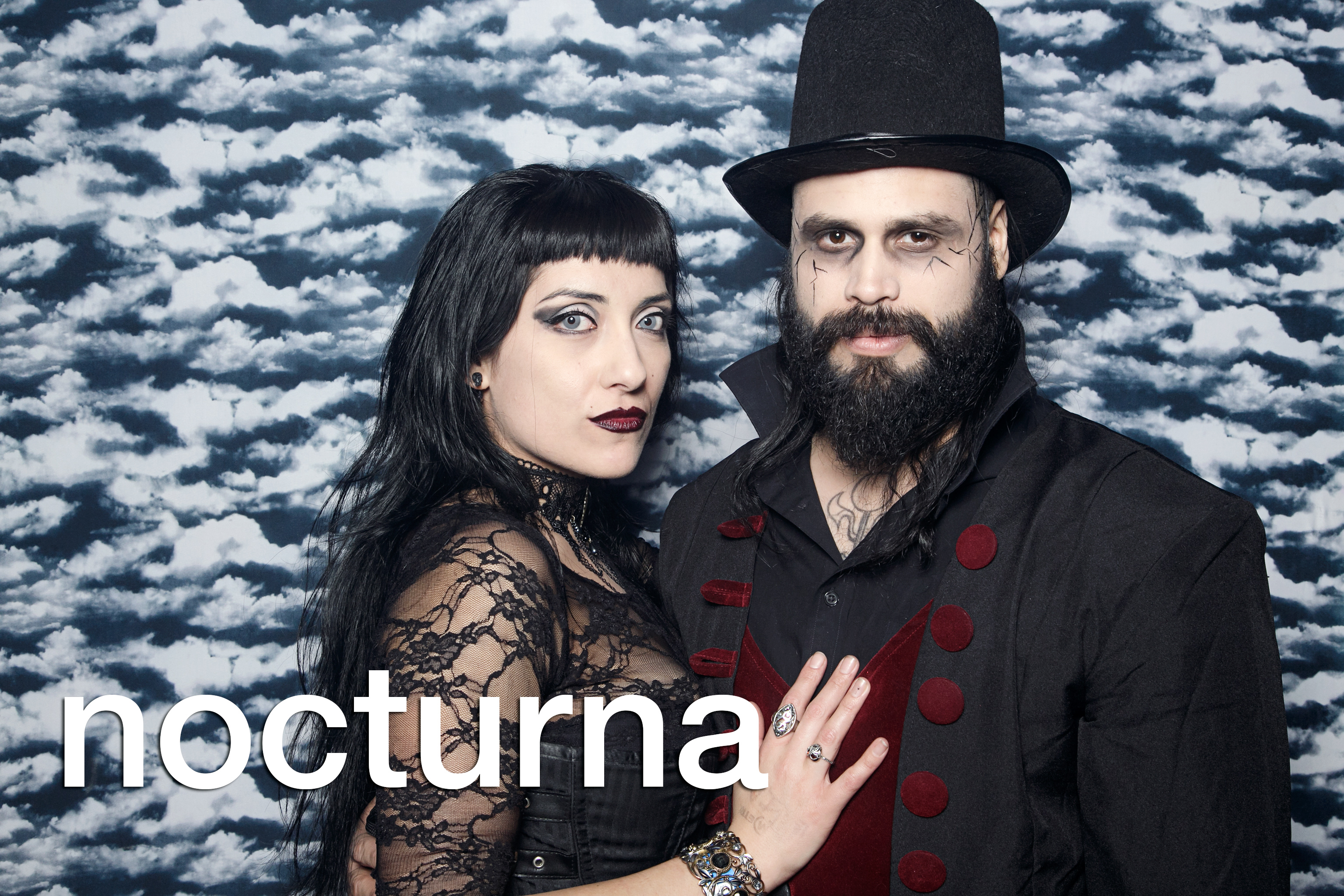 photo booth portraits from nocturna valentines day, february 2017