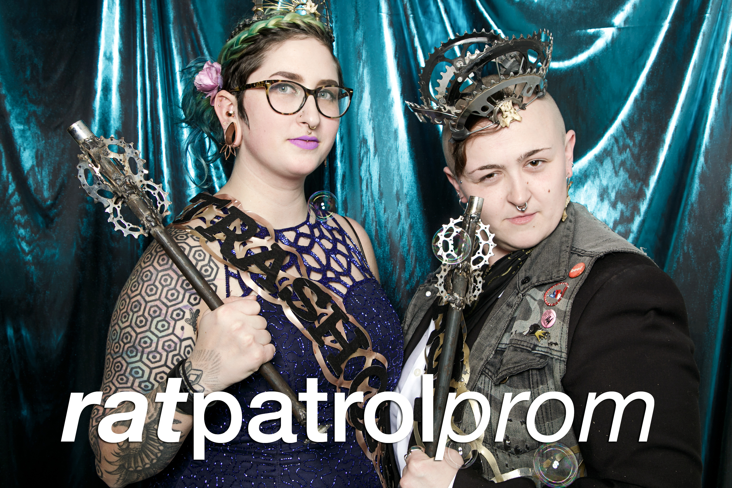 portrait booth photos from rat patrol prom at tcc gallery, march 2017