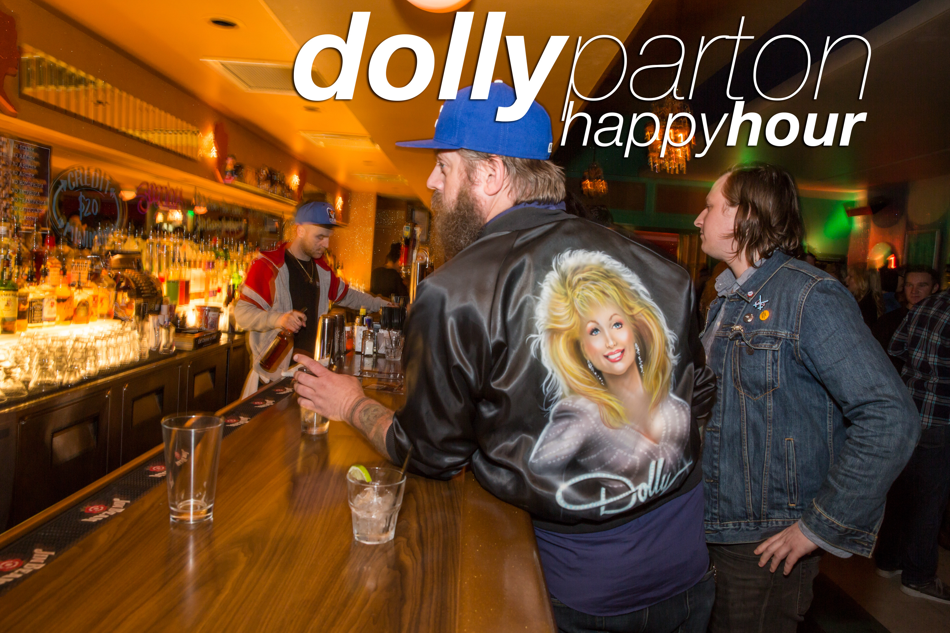 party photos from the dolly parton happy hour at beauty bar, april 2017