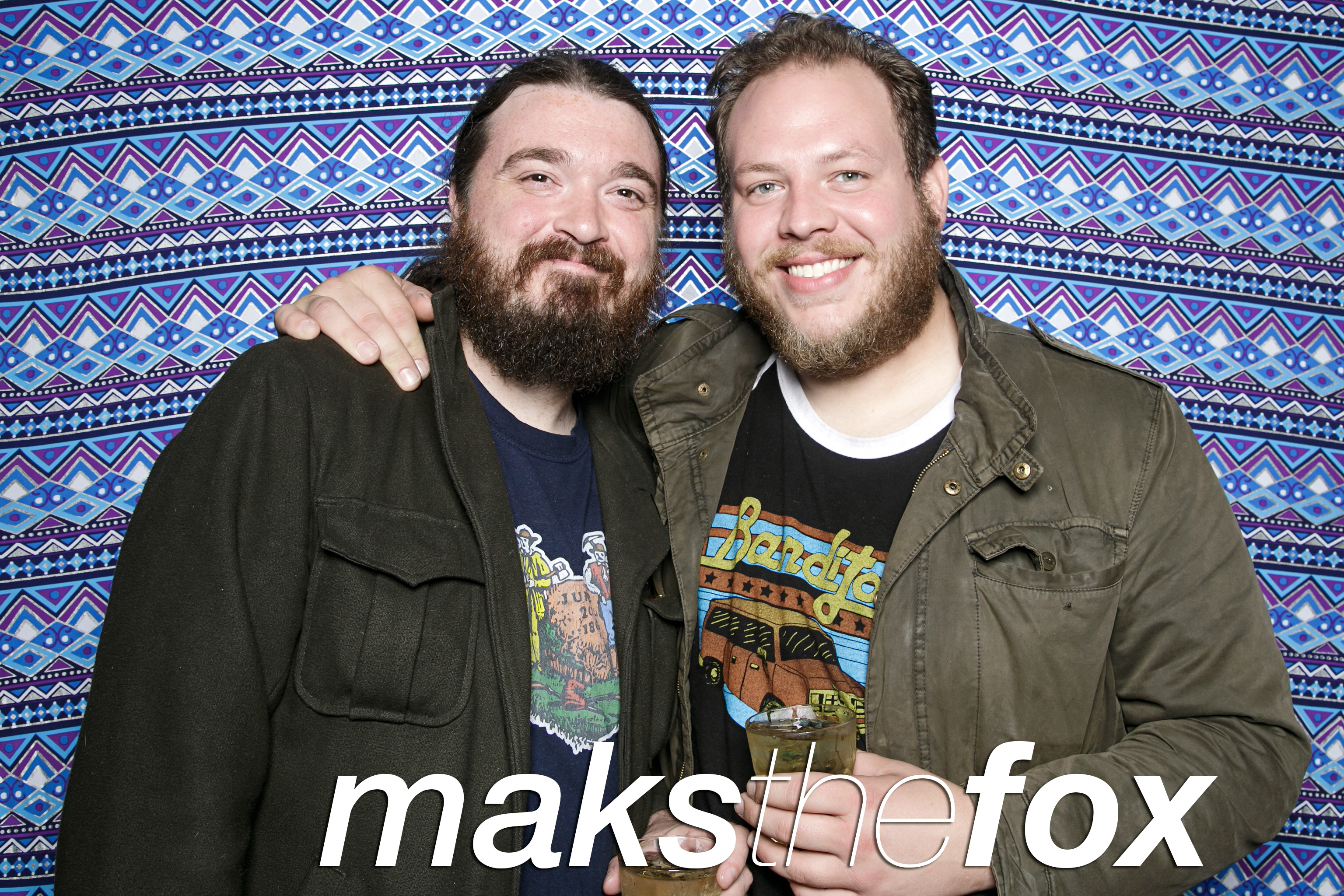 photo booth portraits from maks the fox at the hideout, april 2017