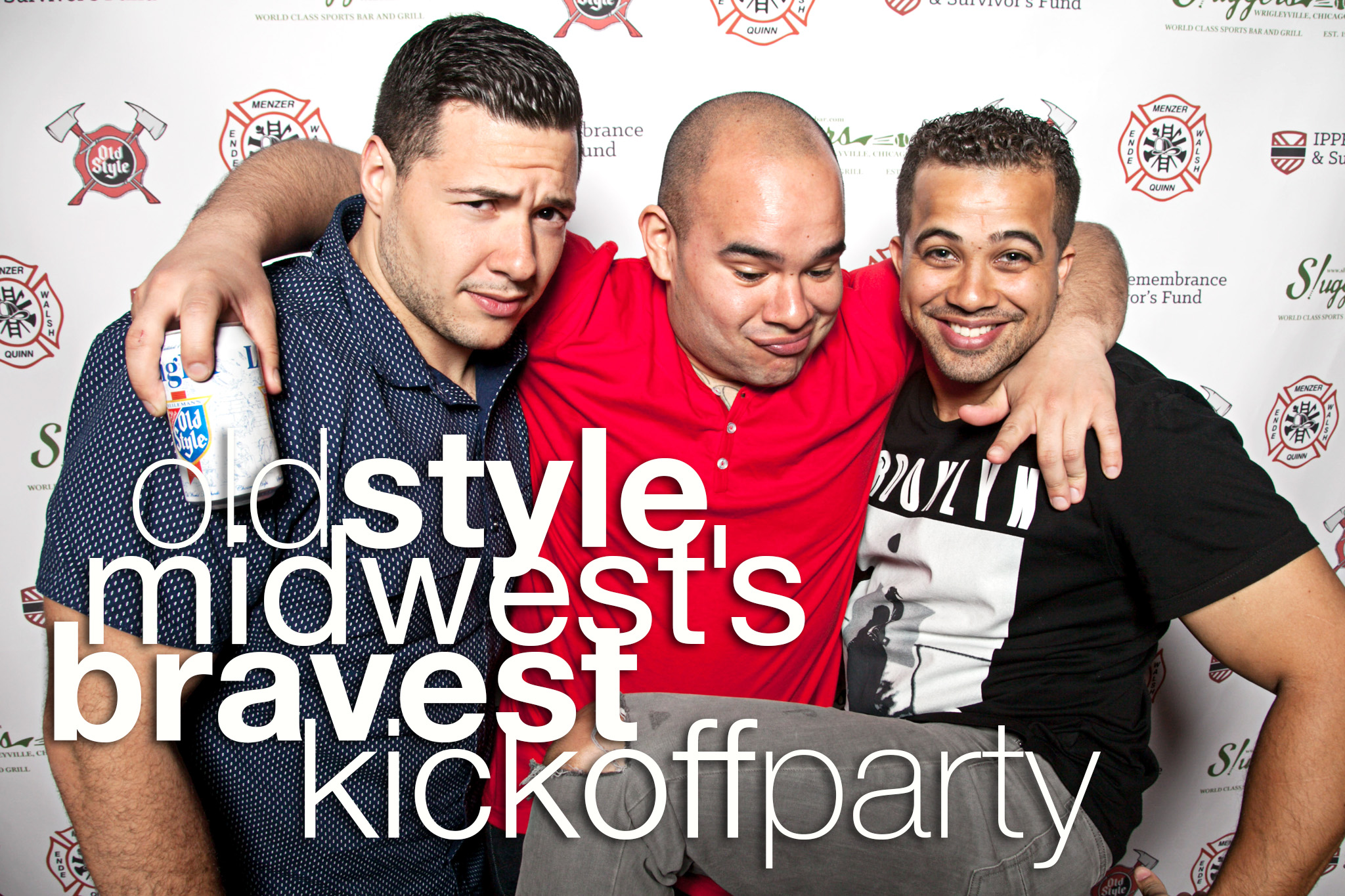 Old Style Midwest's Bravest Kickoff Party
