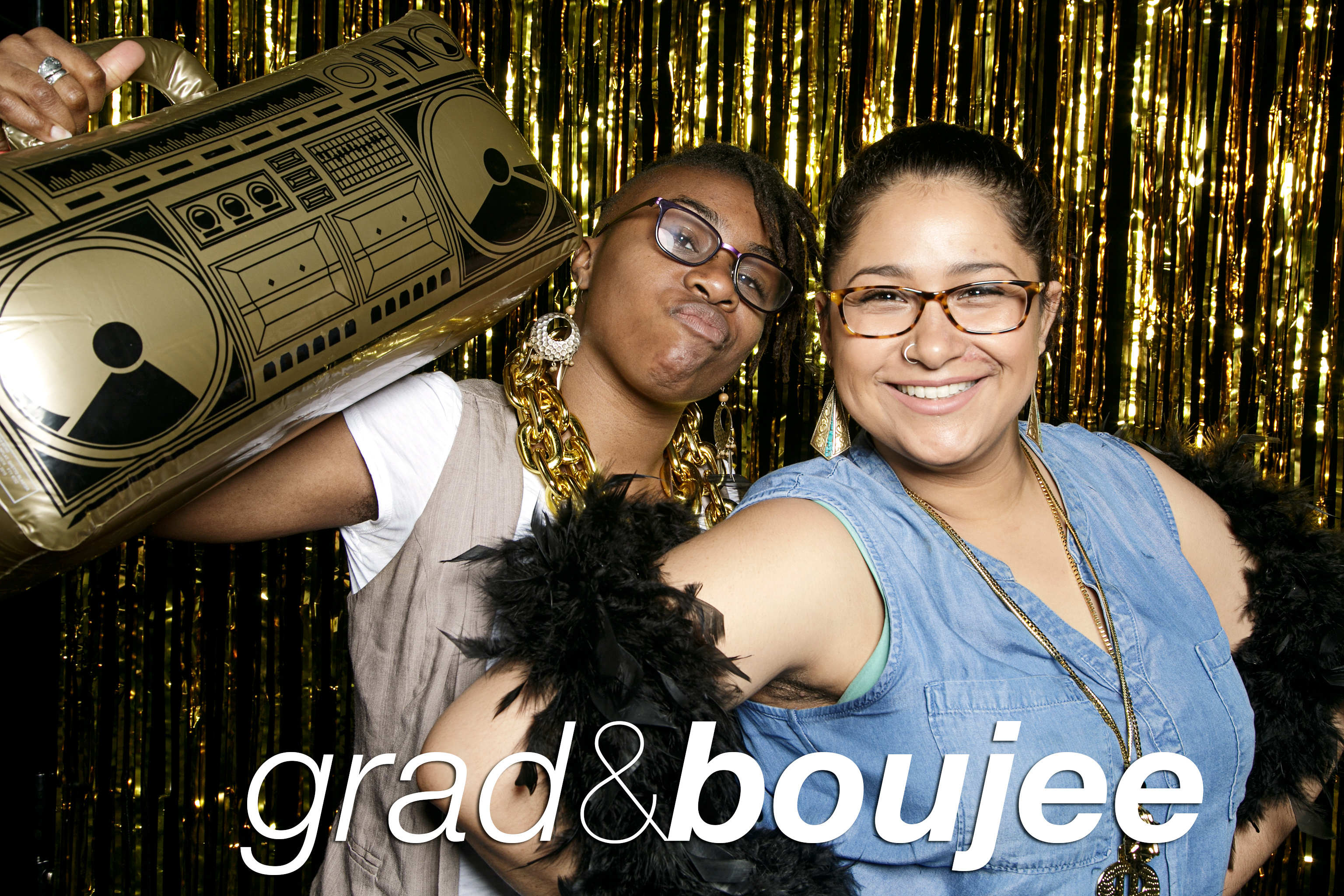 photo booth portraits from grad and boujee, may 2017