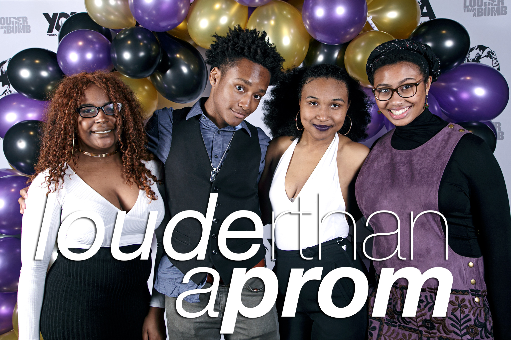 portrait booth photos from louder than a prom at concord, may 2017