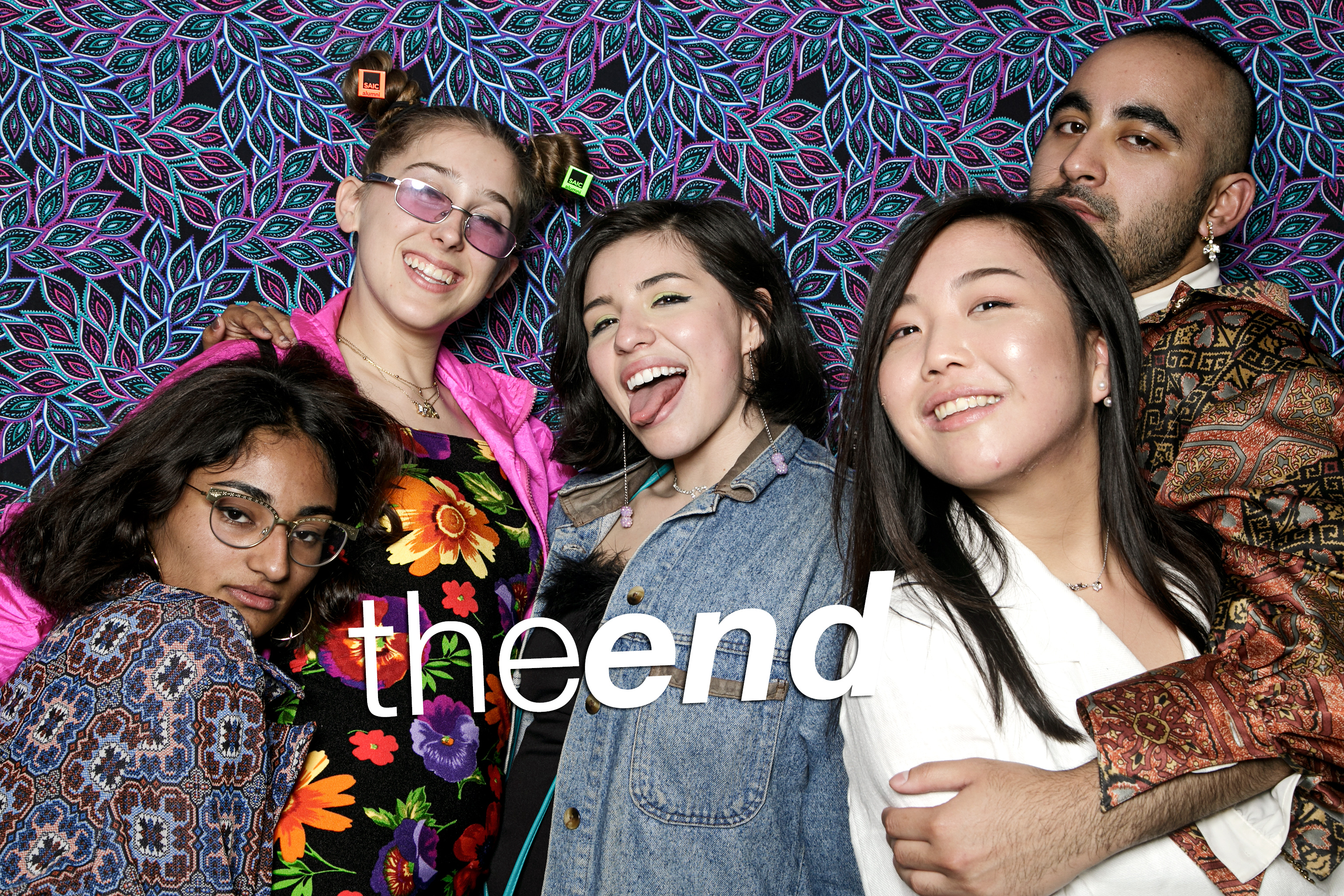 portrait booth photos from SAIC's the end, may 2017
