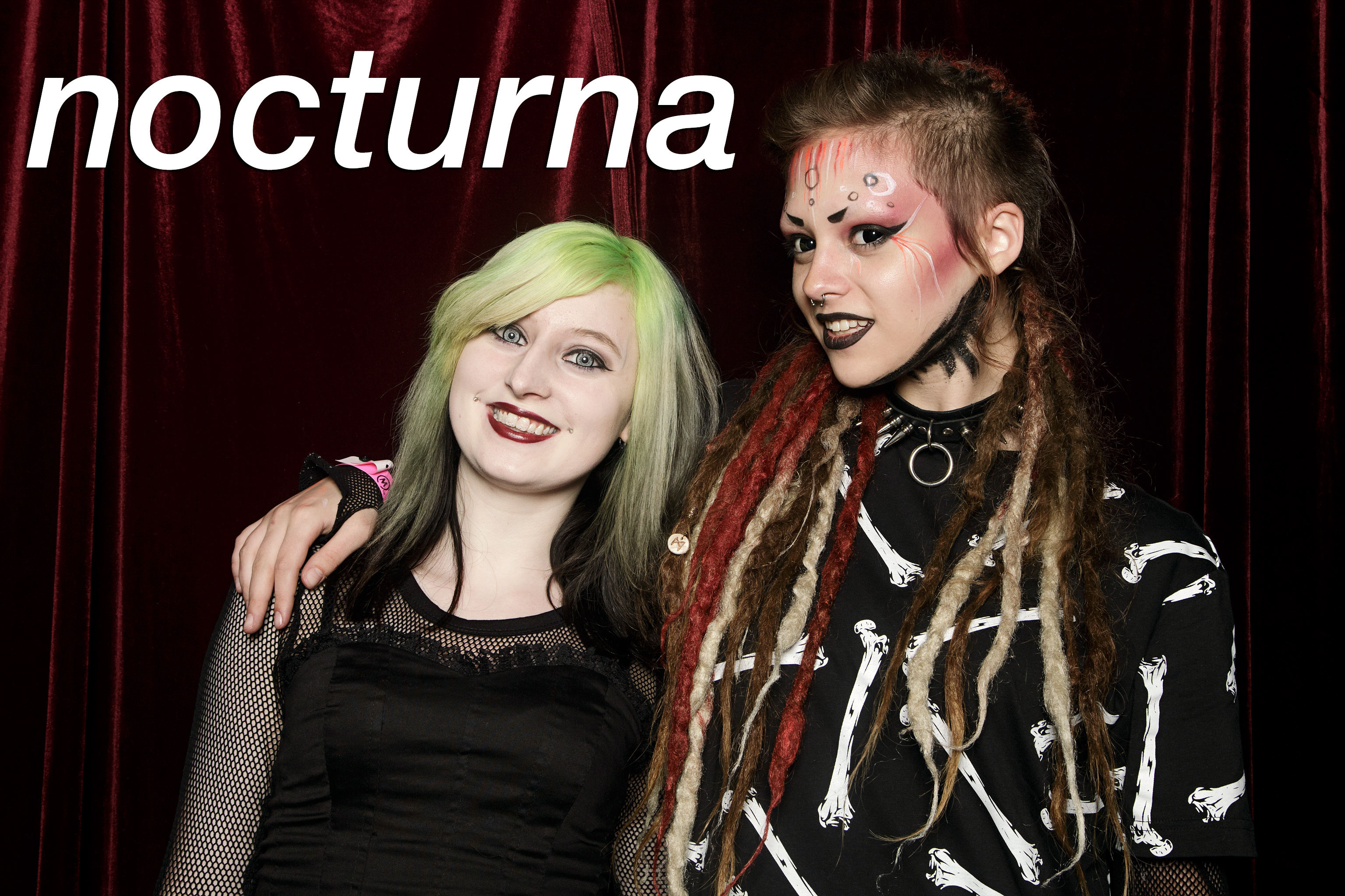 portrait booth photos from nocturna at the metro, june 2017