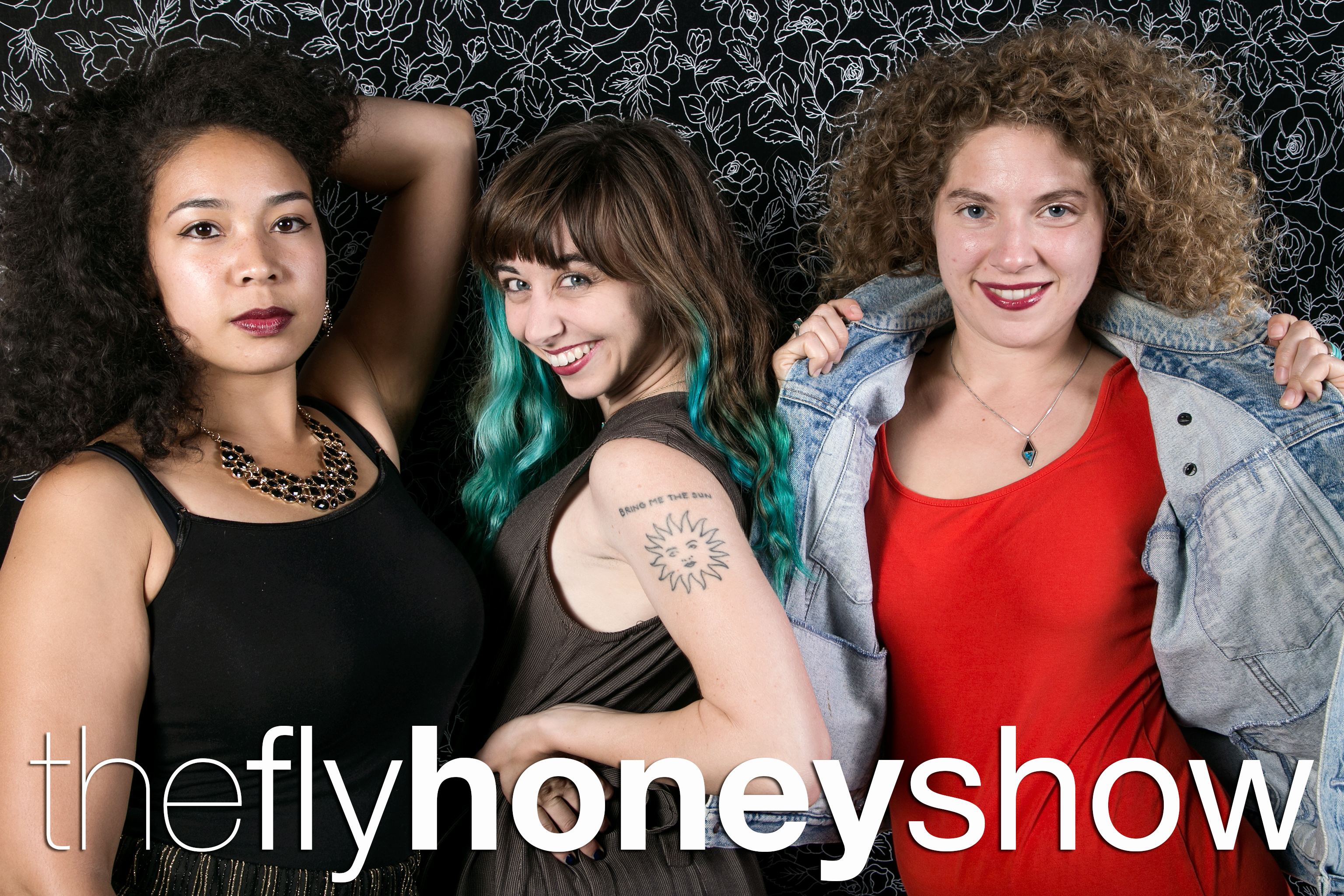 portrait booth photos from the fly honey show, august 12 2017