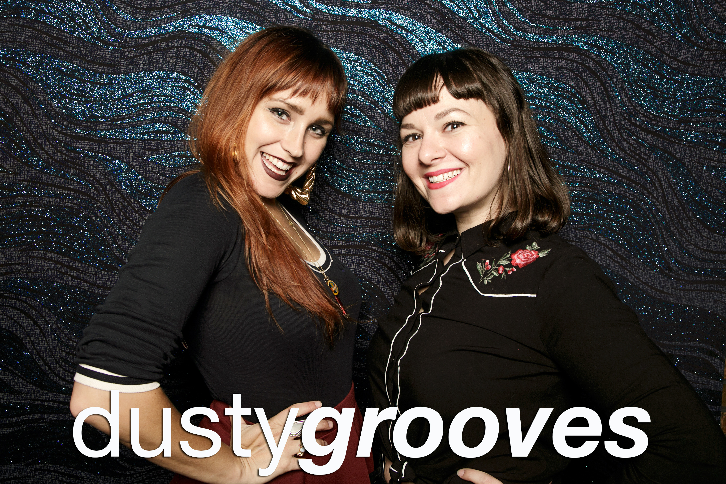 portrait booth photos from dusty grooves, august 2017