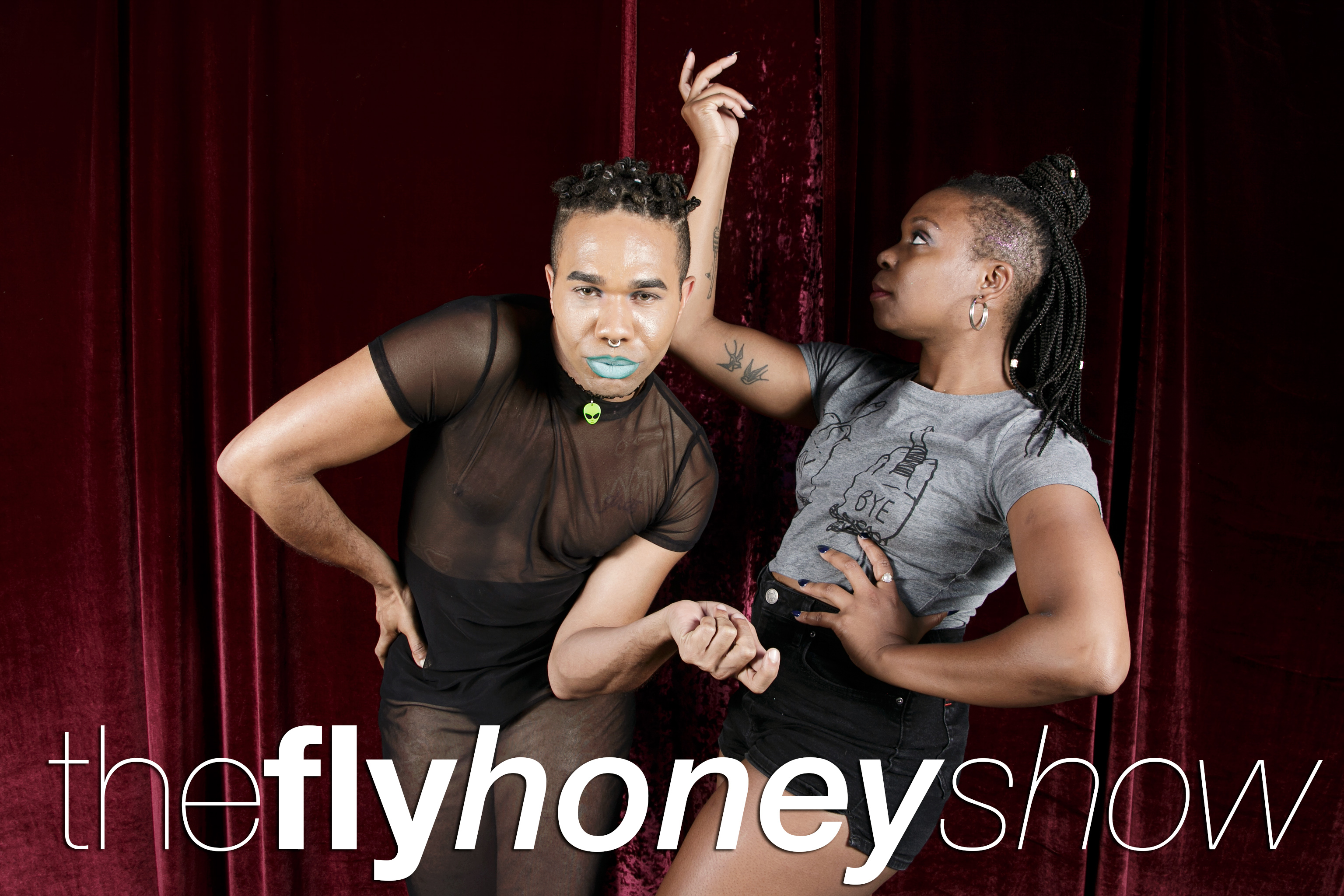 portrait booth photos from the fly honey show closing night, september 2 2017