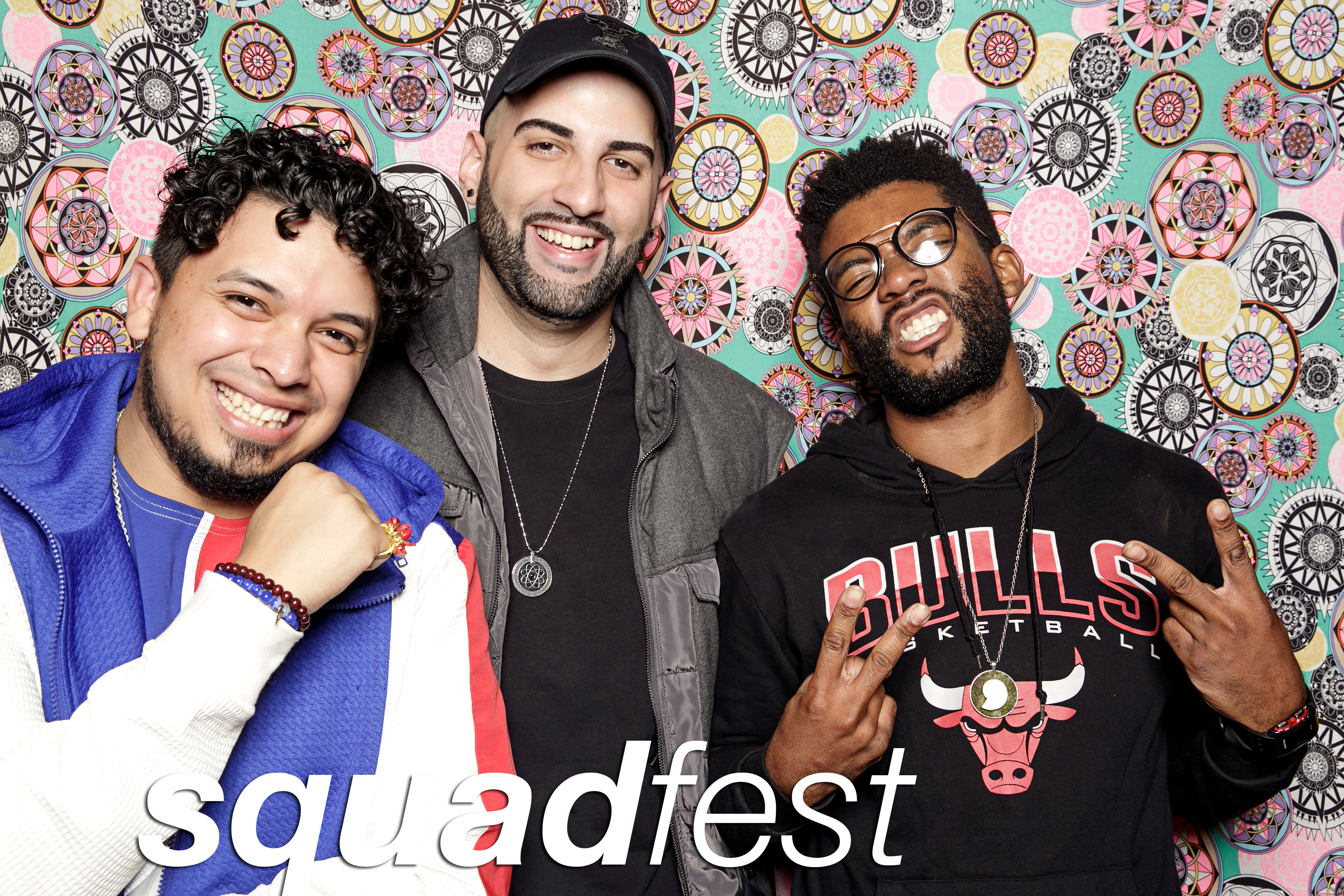 portrait booth photos from the dojo's squadfest, october 2017