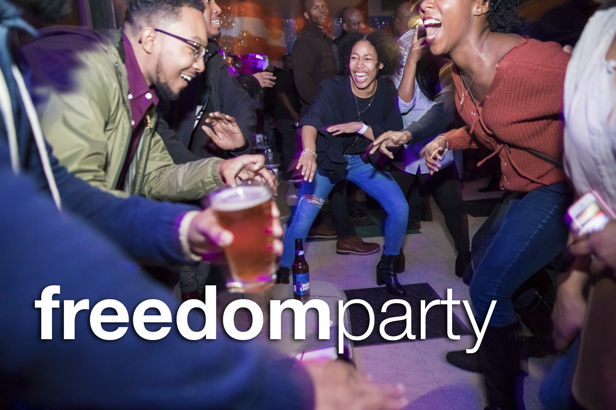 Freedom Party at Beauty Bar