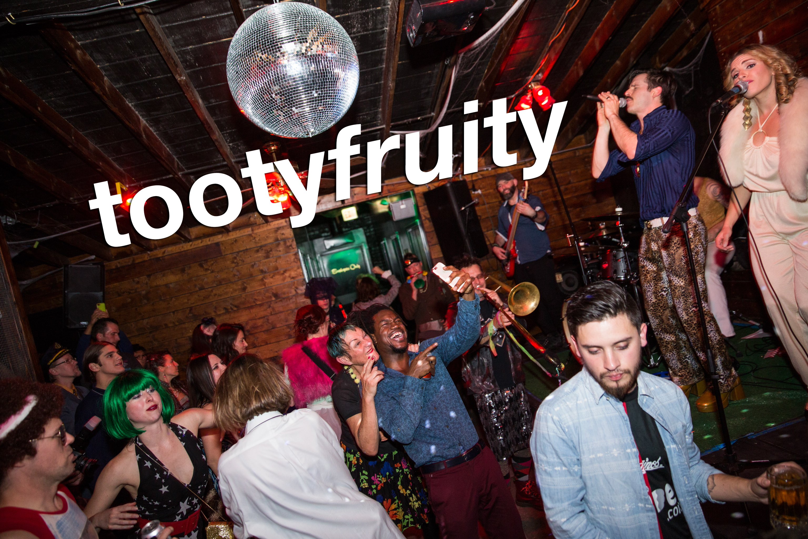 the tooty fruity fashion funktacular at slippery slope, october 2017