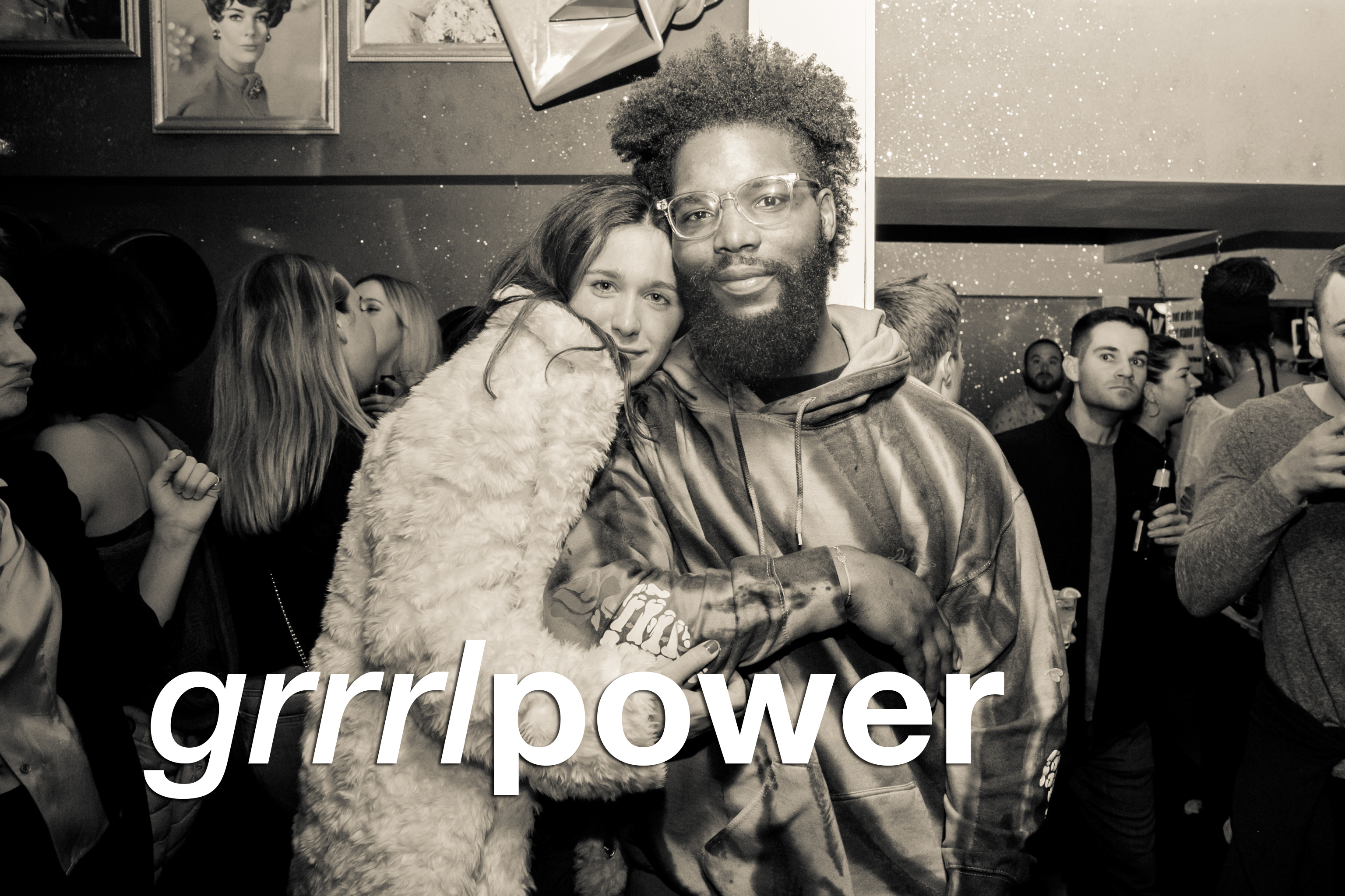 party pics from the december 2017 edition of grrrl power