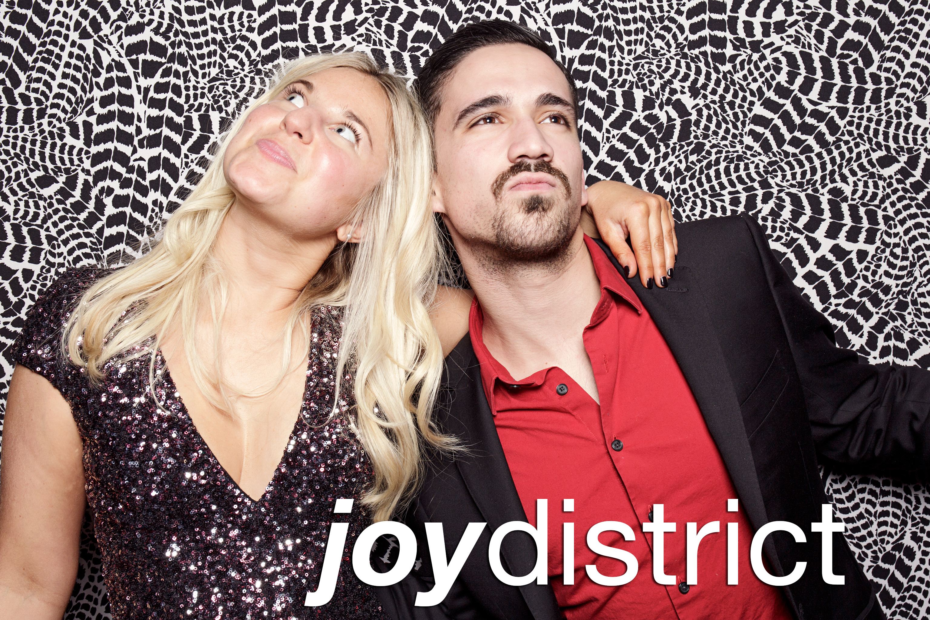 portrait booth photos from joy district, january 2018