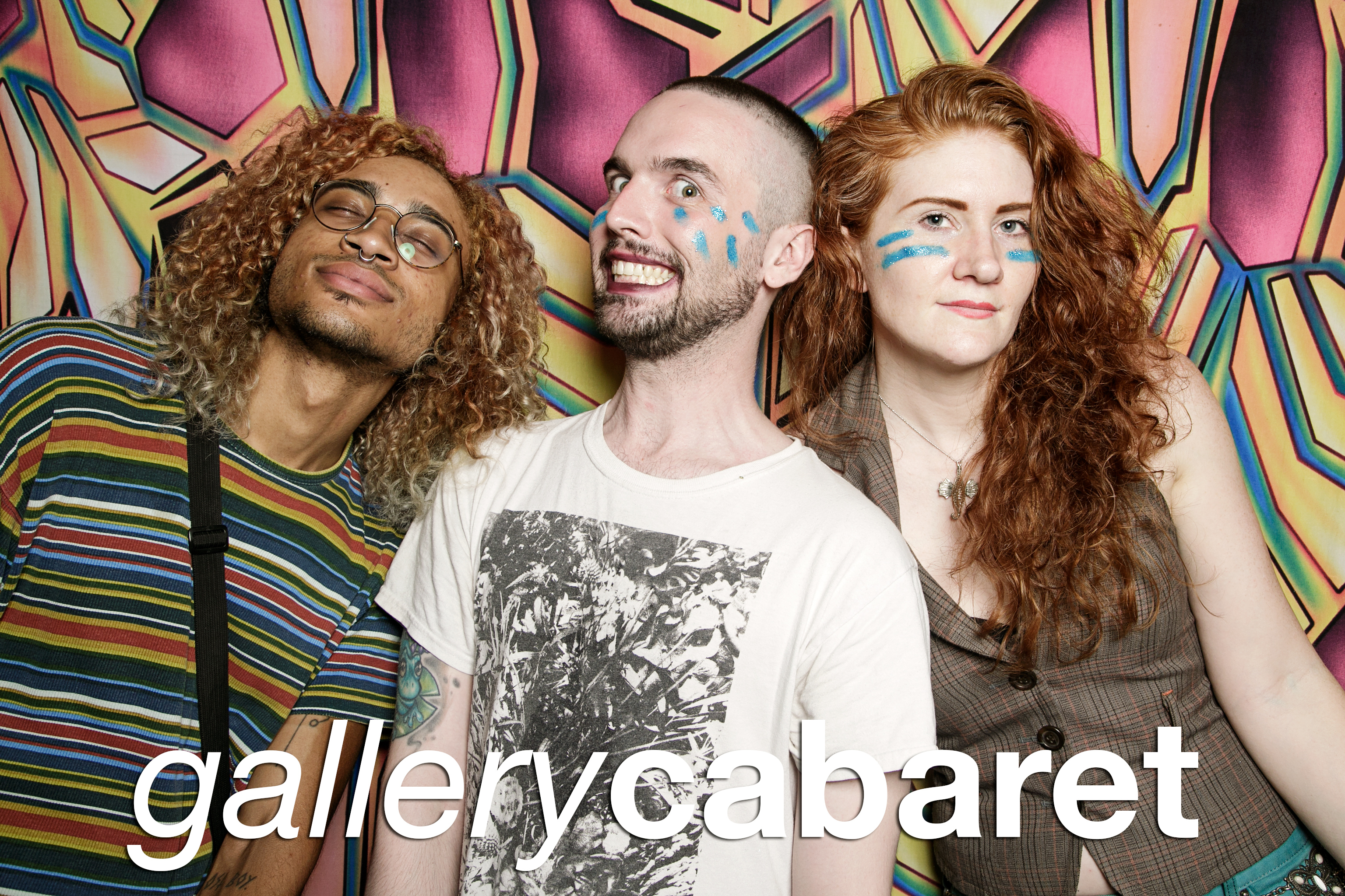 glitterguts portrait booth photos from gallery cabaret, chicago 2018