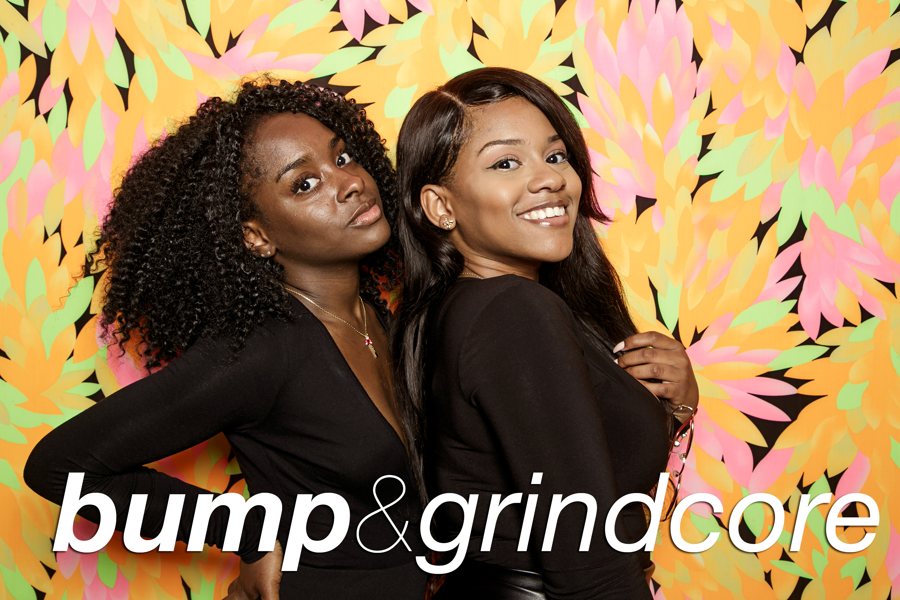 glitterguts portrait booth photos from bump and grindcore at beauty bar chicago, july 2018
