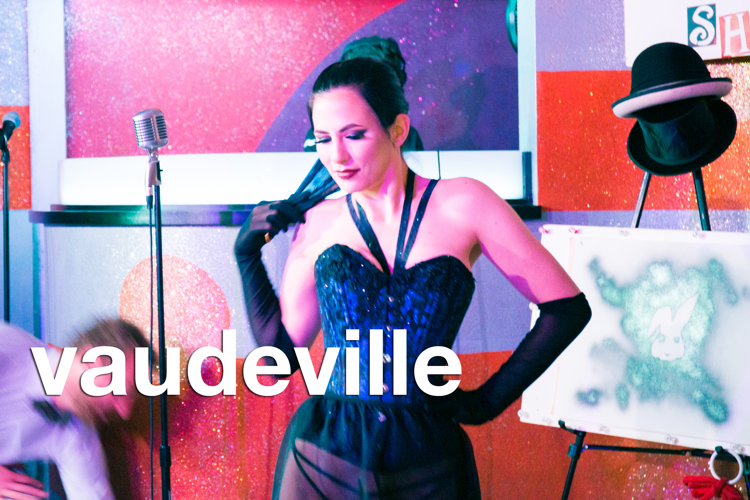 glitterguts event pics from vaudeville at beauty bar chicago, july 2018