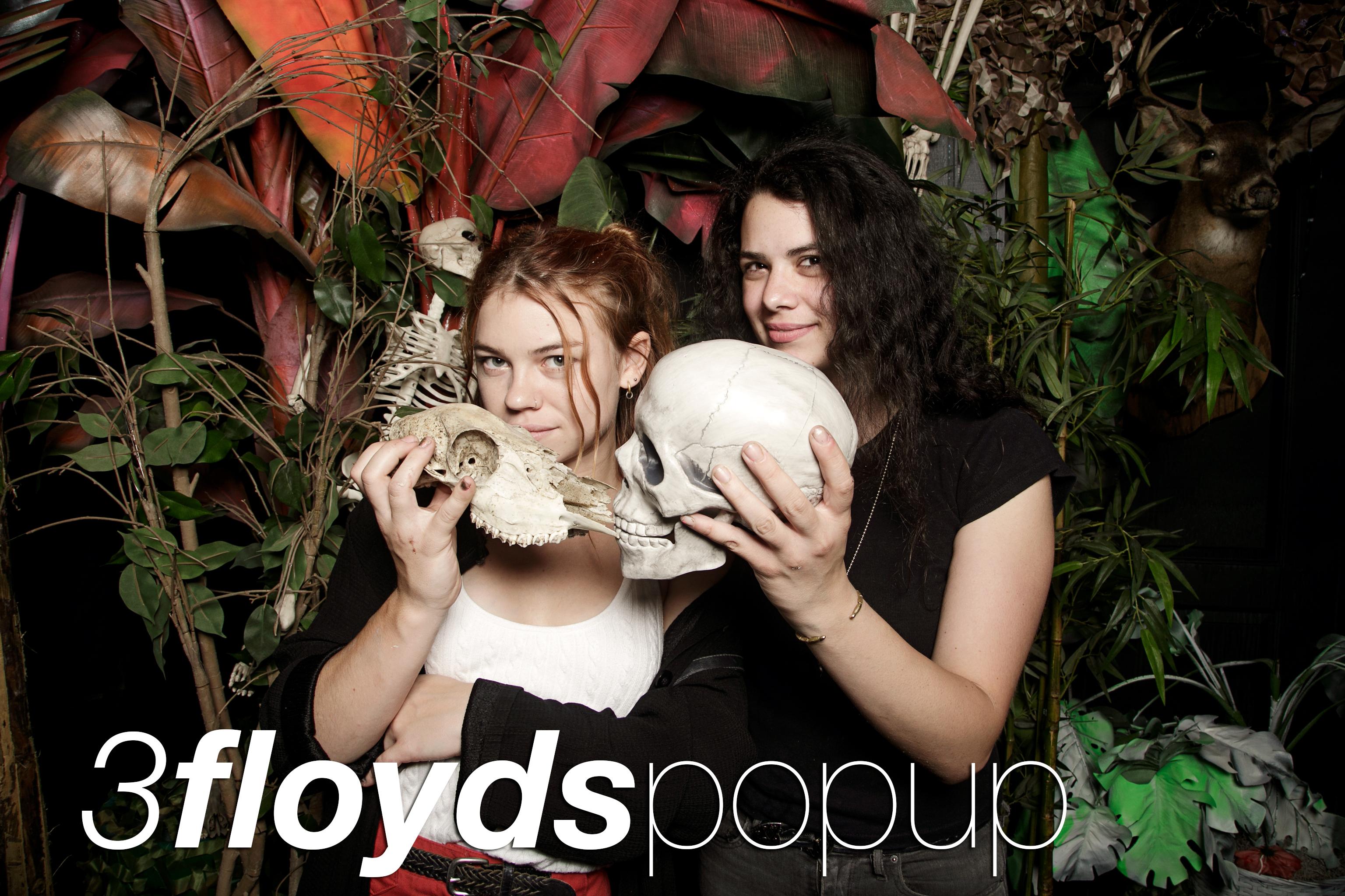 glitterguts portrait booth photos from 3 floyds at emporium popups, chicago 2018
